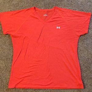 Under Armour V Neck Workout Shirt